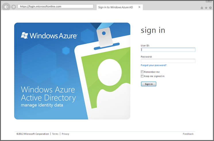 Windows Azure AD Cloud